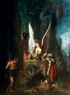 Oedipus the Traveller or Equality before Death - Gustave Moreau