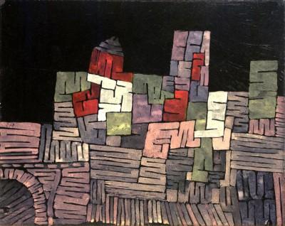 Old Buildings - Sicily - Paul Klee