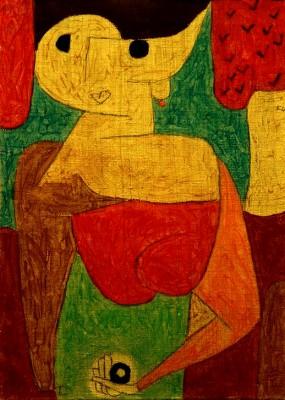 Omphalo-centrischer Vortrag - Paul Klee