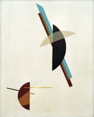 On a white background - László Moholy-Nagy