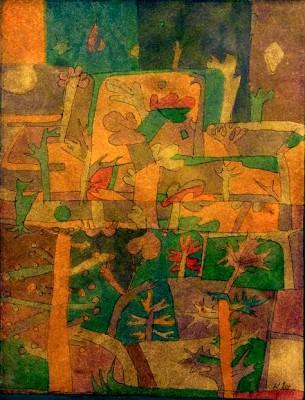 Orientalische Gartenlandschaft - Paul Klee