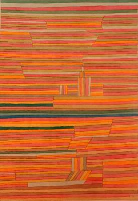 Ort am Kanal - Paul Klee