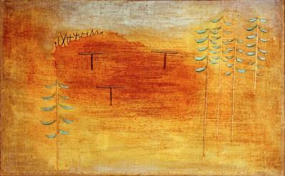 Ort der Verabredung - Paul Klee