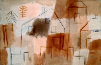 Ort in Blau und Orange - Paul Klee