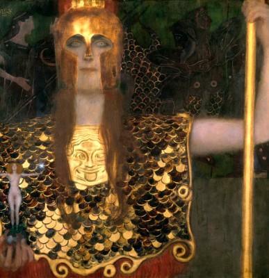 PALLAS ATHENE - Gustav Klimt