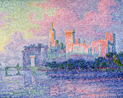 Papal Palace in Avignon - Paul Signac