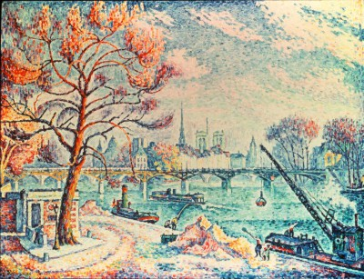 Paris, le Pont des Arts - Paul Signac