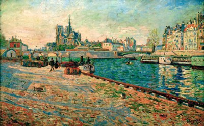 Paris, Notre Dame, the Island Saint-Louis - Paul Signac