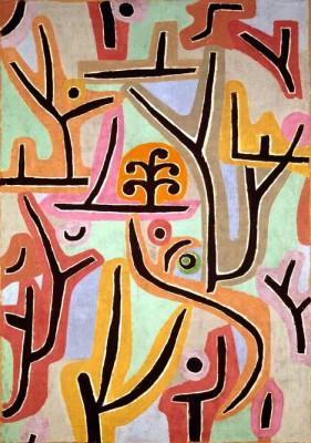 Park bei Lu - Paul Klee