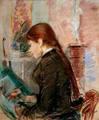Paule Gobillard, drawing - Berthe Morisot