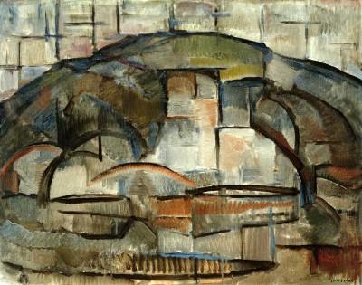Paysage - Piet Mondrian