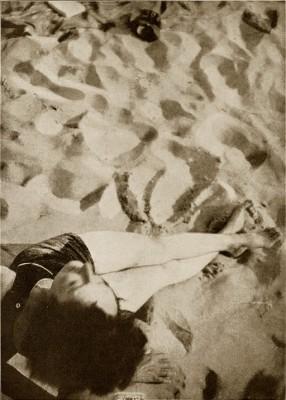 Photo by Moholy-Nagy - June sun - László Moholy-Nagy