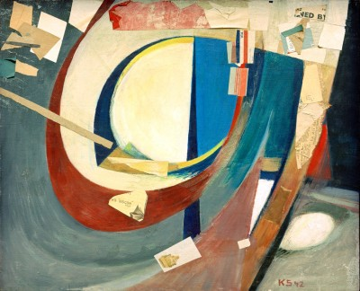 Picture abstract Skoyen II - Kurt Schwitters