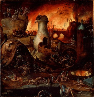 Piekło (2) - Hieronim Bosch