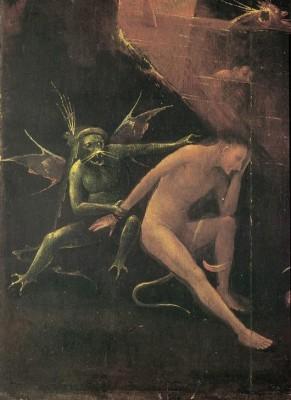 Piekło- fragment - Hieronim Bosch