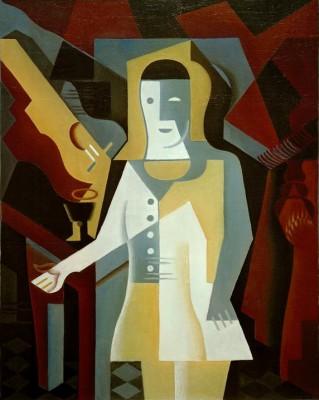 Pierrot - Juan Gris