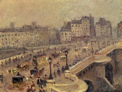 Pont Neuf – Brouillard - Camille Pissarro