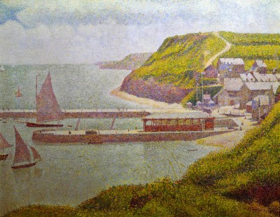 Port-en-Bessin, outer harbour at high tide - Georges-Pierre Seurat