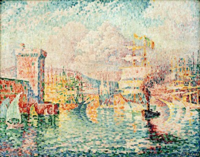 Port of Marseille - Paul Signac