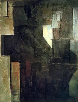 Porträt einer Dame - Piet Mondrian