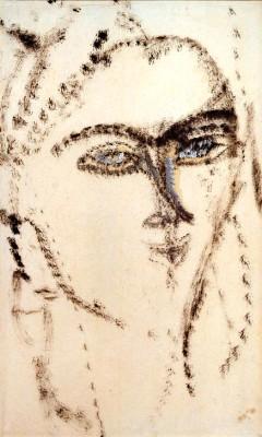 Porträt einer Frau - Amedeo Modigliani