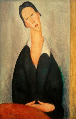 Porträt einer Polin - Amedeo Modigliani