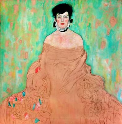 PORTRAIT AMALIE ZUCKERKANDL - Gustav Klimt