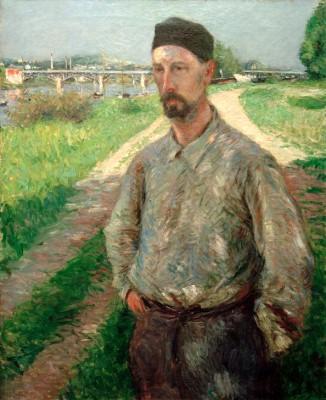 Portrait d'Eugène Lamy - Gustave Caillebotte