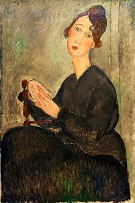 Portrait de Dédie - Amedeo Modigliani