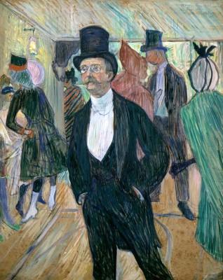 Portrait de Henri Fourcade - Henri de Toulouse-Lautrec