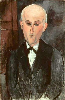 Portrait de Max Jacob (2) - Amedeo Modigliani