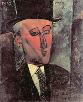 Portrait de Max Jacob - Amedeo Modigliani