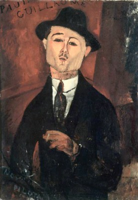 Portrait de Paul Guillaume - Amedeo Modigliani