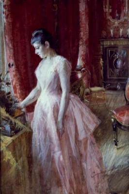 Portrait Miss Anna Cassel - Anders Zorn