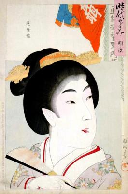 Portrait of a Beauty - Torii Kiyonaga