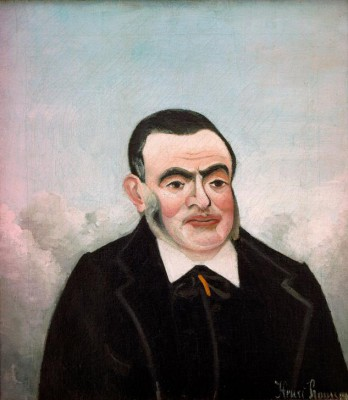 Portrait of a Man - Henri Rousseau