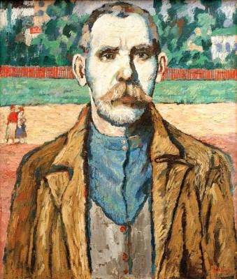 Portrait of a Man - Kazimierz Malewicz