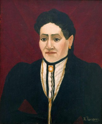 Portrait of a woman (2) - Henri Rousseau