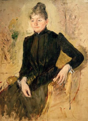 Portrait of a Woman - Mary Cassatt