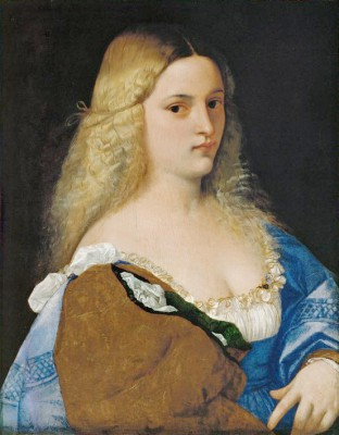 Portrait of a young Lady - Tycjan