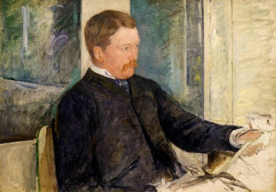 Portrait of Alexander Johnston Cassatt - Mary Cassatt