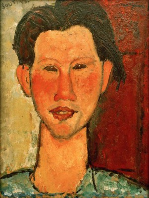 Portrait of Chaim Soutine - Amedeo Modigliani