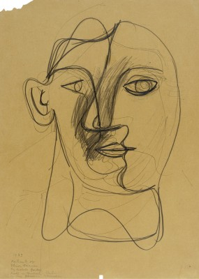 Portrait of Elinor Graham - Arshile Gorky