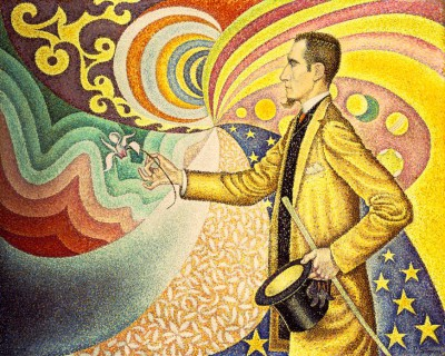 Portrait of Felix Feneon - Paul Signac