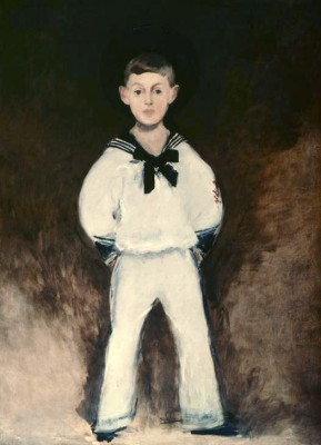 Portrait of Henry Bernsteins as a boy - Édouard Manet