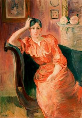 Portrait of Jeanne Pontillon - Berthe Morisot