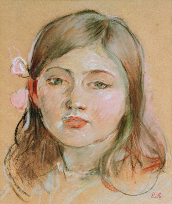Portrait of Julie - Berthe Morisot