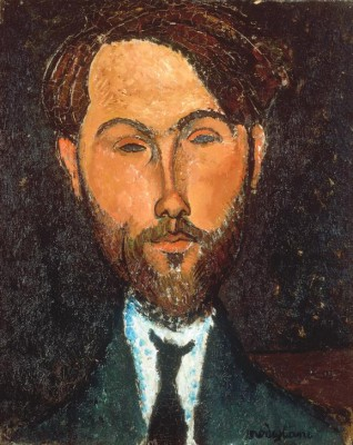 Portrait of Leopold Zborowski - Amedeo Modigliani