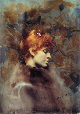 Portrait of Miss Law - Anders Zorn