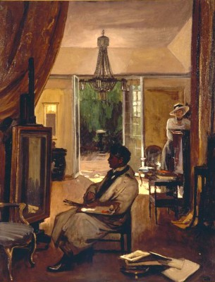 Portrait of Patrick William Adam in his Studio - John Lavery